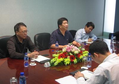 郭明董事长在京会见中联煤层气公司董事长孙茂远一行